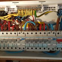 Consumer Unit Before
